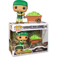 Avatar The Last Airbender - Cabbage Man & Cart #656 Pop Vinyl Funko NYCC 2019 Exclusive