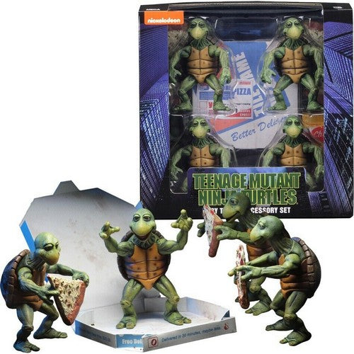 1:4 Teenage Mutant Ninja Turtles (1990) - Baby Turtles Figure NECA