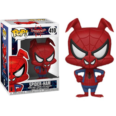 Spider-Man : Into the Spider-Verse - Spider-Ham #410 Pop Vinyl Funko Exclusive