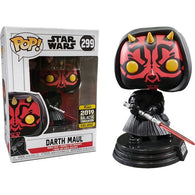 Star Wars - Darth Maul Pop Vinyl Funko 2019 Galactic Convention Exclusive