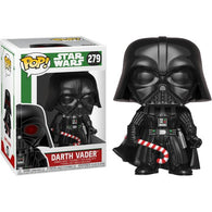 Star Wars - Darth Vader Christmas Holiday (with chase*) #279 Pop Vinyl Figure Funko