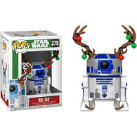 Star Wars - R2-D2 with Antlers Christmas Holiday #275 Pop Vinyl Funko