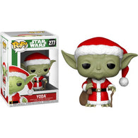 Star Wars -  Yoda Santa Christmas Holiday #277 Pop Vinyl Figure Funko