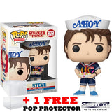 Stranger Things 3 - Steve in Ahoy Uniform #829 Pop Vinyl Funko Exclusive (LAST CHANCE)