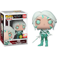 The Witcher - Ciri Magic Glow In The Dark #150 Pop Vinyl Funko E3 2019 Convention Exclusive