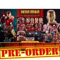 (PREORDER) 1:6 Marvel Comics : The Origins Collection - Iron Man Diecast Deluxe Figure CMS08D38 Hot Toys