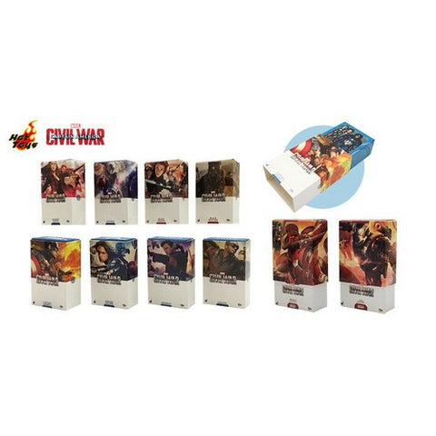 Avengers : Civil War - Mini Magnet Artist Box Set of 10 Hot Toys