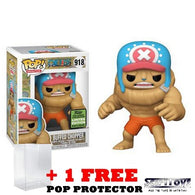 One Piece - Buffed Chopper #918 Pop Vinyl Funko ECCC 2021 Spring Convention Exclusive