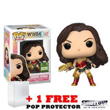 DC : Wonder Woman 1984 - Wonder Woman with Tiara Boomerang #347 Pop Vinyl Funko ECCC 2021 Spring Convention Exclusive