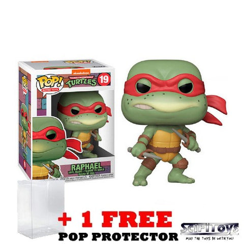 Teenage Mutant Ninja Turtles 1990 - Raphael Retro #19 Pop Vinyl Figure Funko