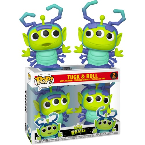 Disney Pixar : Toy Story - Alien Remix Tuck & Roll 2 Pack Pop Vinyl Figure Funko Exclusive