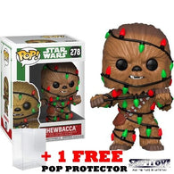 Star Wars - Chewbacca with Lights Christmas Holiday #278 Pop Vinyl Funko