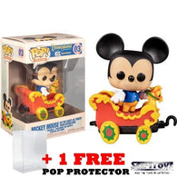 Disneyland 65th Anniversary - Mickey Mouse on the Casey JR. Circus Train Attraction #03 Pop Vinyl Figure Funko Exclusive