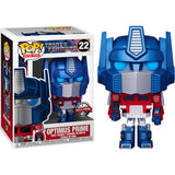 Transformers 1984 - Optimus Prime Metallic #22 Pop Vinyl Figure Funko Exclusive