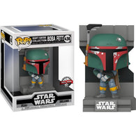 Star Wars V : The Empire Strikes Back - Boba Fett Metallic Bounty Hunters Diorama Deluxe #436 Pop Vinyl Figure Funko Exclusive