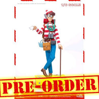 (PREORDER) 1:6 Where's Wally? - Wally Figure with Book Diorama Megahero Series Blitzway