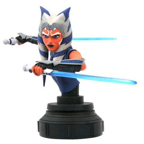 1:7 Star Wars: Clone Wars - Ahsoka 3D Bust Diamond Select Toys