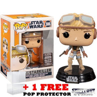 Star Wars : Ralph McQuarrie Concept Series - Starkiller #386 Pop Vinyl Funko Galactic Convention 2020 Exclusive (LAST CHANCE)
