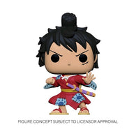 (PREORDER) Anime : One Piece - Luffy in Kimono Pop Vinyl Figure Funko Fair 2021