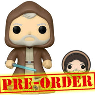 (PREORDER) Star Wars: Across the Galaxy - Obi-Wan Kenobi Tatooine Pop Vinyl Figure + Enamel Pin Funko Exclusive