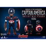 Avengers 2 : Age of Ultron - Iron Man Hulkbuster / Captain America Hot Toys Artist Mix