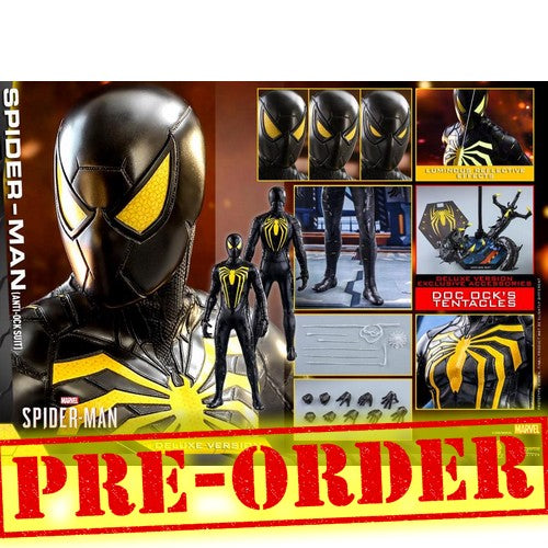 (PREORDER) 1:6 Spider Man Video Game 2019 - Anti-Ock Suit Deluxe Figure VGM45 Hot Toys