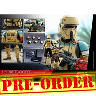 (PREORDER) 1:6 Star Wars: Rogue One - Shoretrooper Squad Leader Figure MMS592 Hot Toys