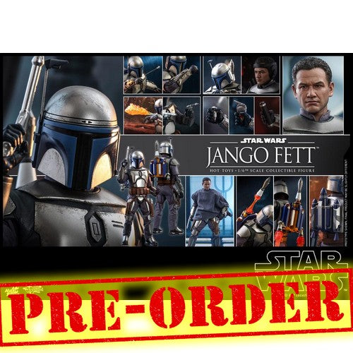 (PREORDER) 1:6 Star Wars - Jango Fett Figure MMS589 Hot Toys