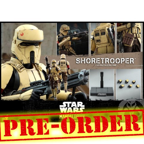 (PREORDER) 1:6 Star Wars: The Mandalorian - Shoretrooper Figure TMS031 Hot Toys
