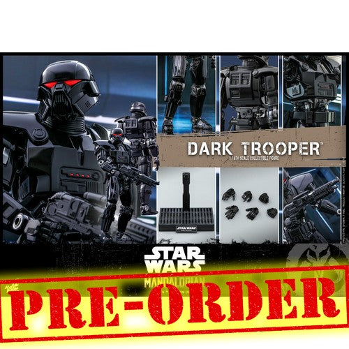 (PREORDER) 1:6 Star Wars : The Mandalorian - Dark Trooper Figure TMS032 Hot Toys