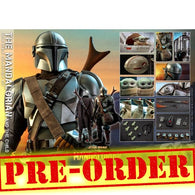 (PREORDER) 1:4 Star Wars : The Mandalorian - Mandalorian & The Child Baby Yoda Figure QS016 Hot Toys