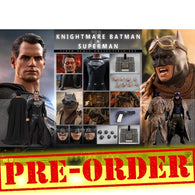 (PREORDER) 1:6 DC : Zack Snyder's Justice League - Knightmare Batman and Superman Figure Set TMS038 Hot Toys (EARLY BIRD)
