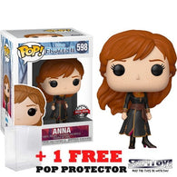Frozen 2 - Anna Travelling #598 Pop Vinyl Funko Exclusive