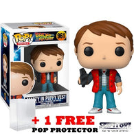 Back to the Future - Marty Mcfly in Puffy Vest #961 Pop Vinyl Figure Funko