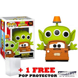 Disney Pixar : Toy Story - Alien Remix in Cars Mater Outfit #764 Pop Vinyl Funko