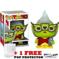 Disney Pixar : Toy Story - Alien Remix in Monster Inc. Roz Outfit #763 Pop Vinyl Funko