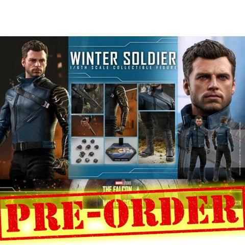 (PREORDER) 1:6 Marvel : The Falcon and the Winter Soldier - Winter Soldier Figure TMS039 Hot Toys