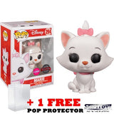 Disney : The Aristocats - Marie Flocked #294 Pop Vinyl Figure Funko Exclusive
