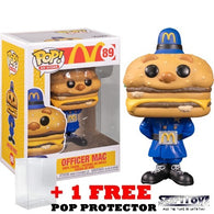 Ad Icons : McDonalds - Officer Big Mac #89 Pop Vinyl Funko