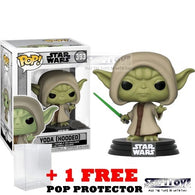 Star Wars : Battlefront - Yoda Hooded #393 Pop Vinyl Figure Funko Exclusive