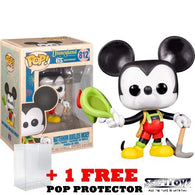 Disneyland 65th Anniversary - Matterhorn Bobsleds Mickey Mouse #812 Pop Vinyl Figure Funko Exclusive