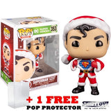 DC : Super Heroes - Superman in Santa Sweater Christmas Holiday #353 Pop Vinyl Figure Funko