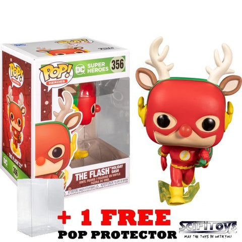 Flash Flash Rudolph Holiday Pop Vinyl