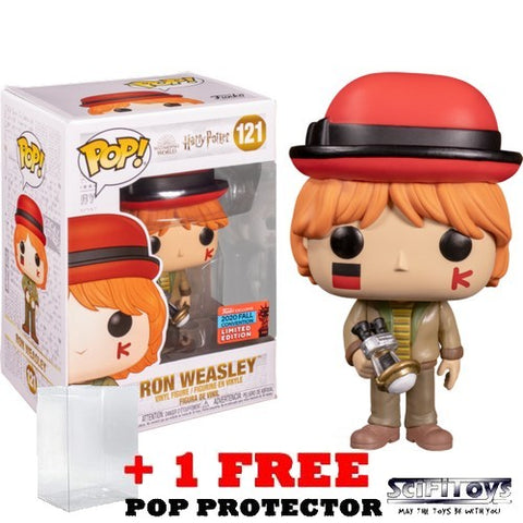 Harry Potter - Ron Weasley Quidditch World Cup #121 Pop Vinyl Funko NYCC 2020 Exclusive