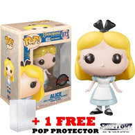 Disneyland 65th Anniversary : Alice in Wonderland - Alice #973 Pop Vinyl Figure Funko Exclusive