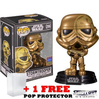 Star Wars - Gold Stormtrooper #296 Pop Vinyl Funko Exclusive WonderCon 2021