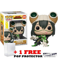 Anime : My Hero Academia - Tsuyu Asui #374 Pop Vinyl Figure Funko