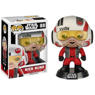 Star Wars : The Force Awakens - Nien Nunb with Helmet Exclusive #88 Pop Vinyl Funko