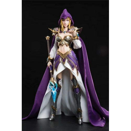 1:6 WOW World of Warcraft - Mage Magician Jaina Proudmoore Custom Figure Coreplay Deluxe