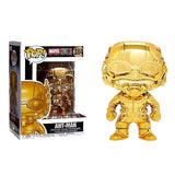 Marvel Studios The First 10 Years - Ant-Man Gold Chrome #384 Pop Vinyl Funko Exclusive